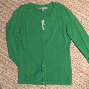NWT Green Cardigan Size S